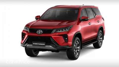 Rumour: Toyota Fortuner facelift bookings open