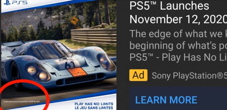 """Gran Turismo 7 Releasing in """"First Half of 2021"""", According to Official PlayStation Ad"""