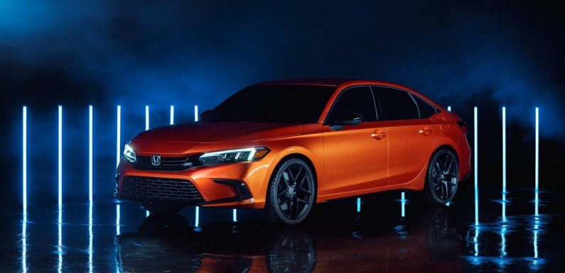 Honda Civic Prototype Revealed, and It's Pretty Much the 2022 Civic