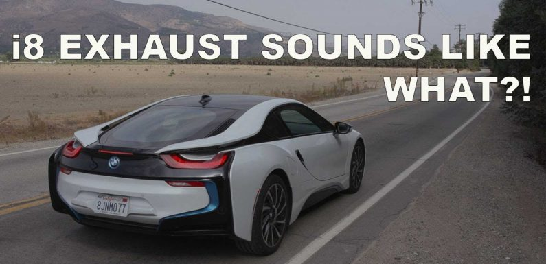 BMW i8 Sounds Surprisingly Good Without The Enhanced Active Sound