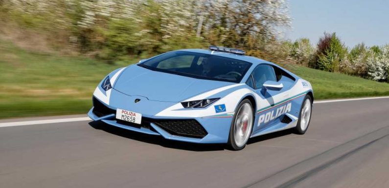 Italian Police Use Lamborghini Huracan to Transport Kidney 300 Miles in Just Two Hours