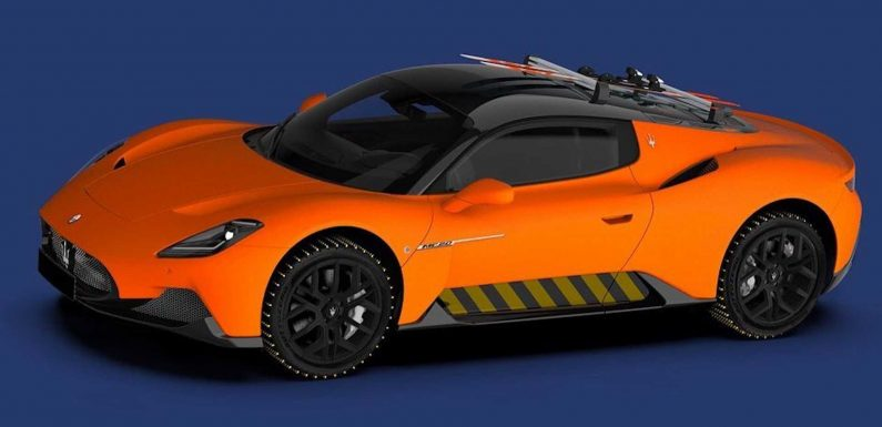 Maserati MC20 Looks Great In Ski-Ready Official Rendering