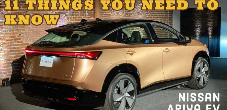 Nissan Ariya Electric SUV: Here Are The Top Things You Need To Know