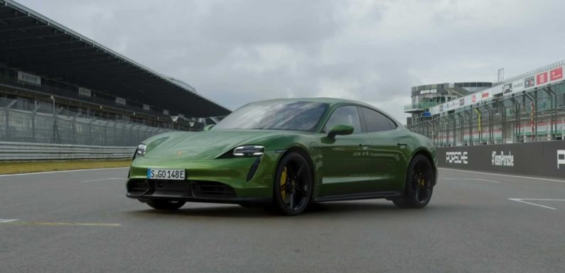 Nico Rosberg Hoons Porsche Taycan Turbo S Around The Nurburgring