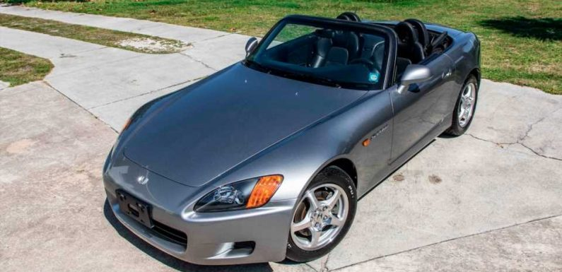 How This Brand New, 34-Mile Honda S2000 Got Parked for 20 Years