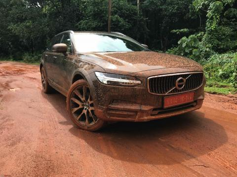 Volvo V90 Cross Country removed from website