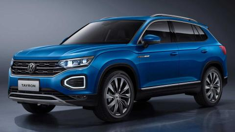 VW Tayron could replace the Tiguan Allspace in Europe