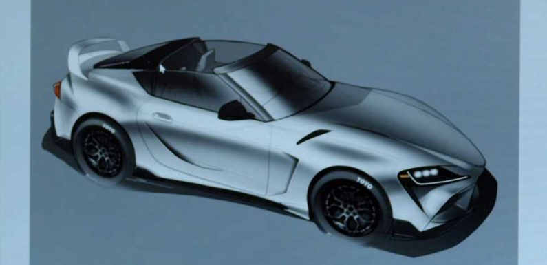 This Is the Targa Top the Fifth-Gen Toyota Supra Deserves