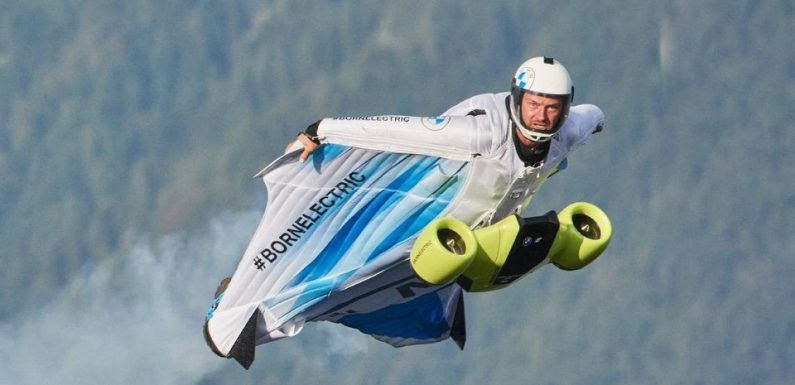 BMW's Wingsuit Will Let You Fly Through the Sky Like a Superhero