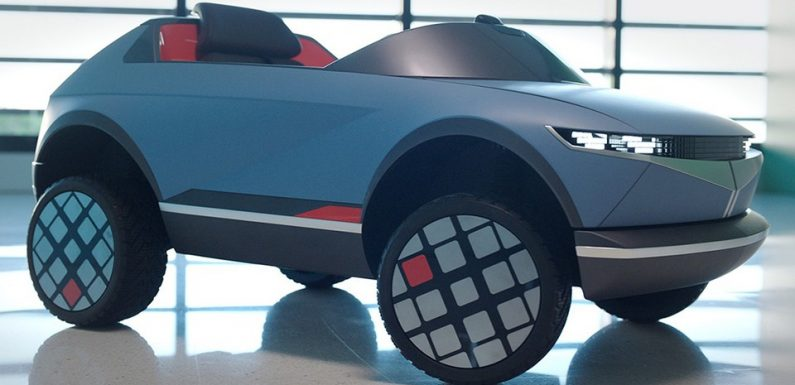 Hyundai's Electric Car for Kids Can Understand Facial Expressions