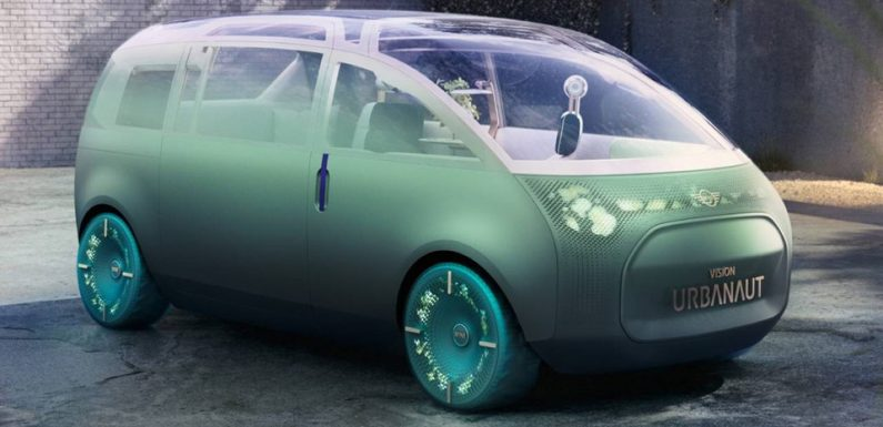 MINI's New Self-Driving Concept EV Vision Urbanaut Is the Ultimate Comforter
