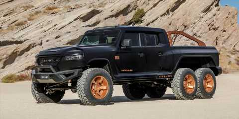 Rezvani's 1300 HP Hercules 6×6 Military Edition Is Ready for an Apocalypse