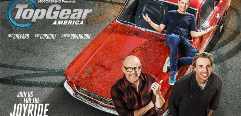 Top Gear America Premieres January 29, 2021, with Dax Shepard, Rob Corddry, and Jethro Bovingdon