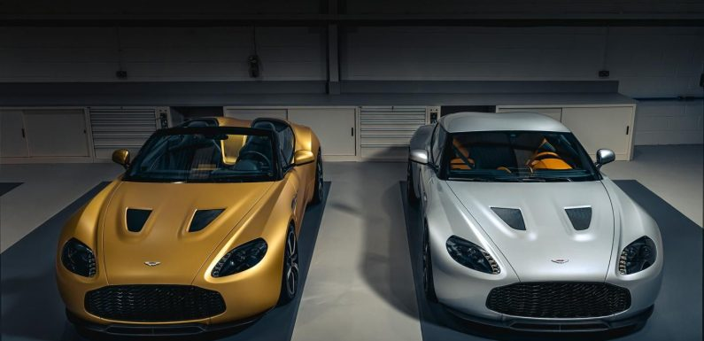 First V12 Zagato Heritage Twins completed
