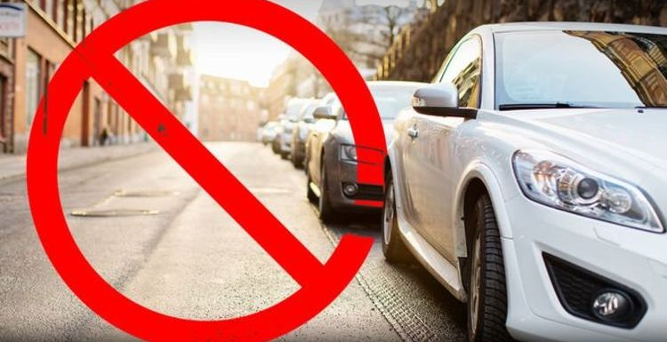Hundreds of road users fined £100 for little known 'dangerous parking' law