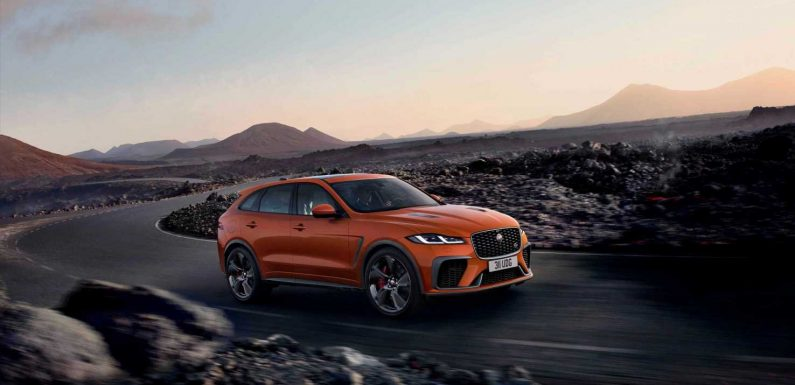 The 2021 Jaguar F-Pace SVR Keeps the Fun Alive