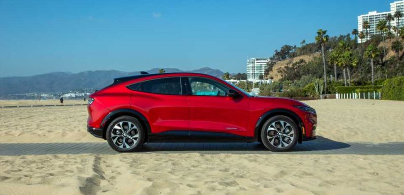 Ford Mustang Mach-E: Best Car To Buy 2021 nominee