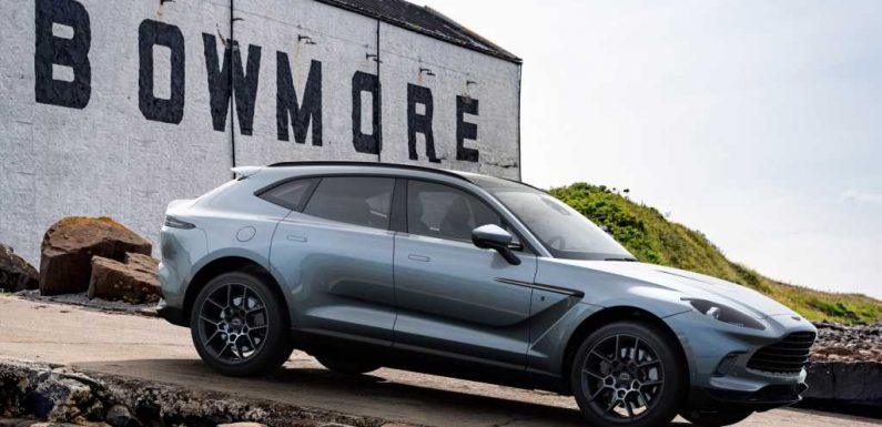 2021 Aston-Martin DBX Bowmore Edition Is Intoxicatingly Scottish