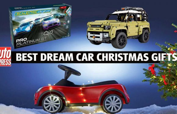 Dream car Christmas gifts for petrolheads 2020