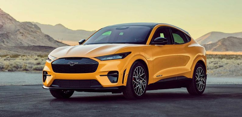 Ford Mustang Mach-E GT Performance Edition revealed