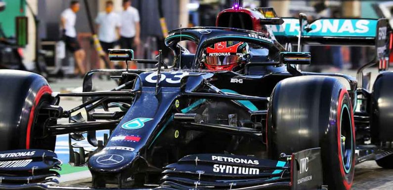 George Russell: 'Hopefully I've given Toto Wolff a headache'