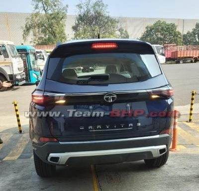 Production-spec Tata Gravitas spied completely undisguised