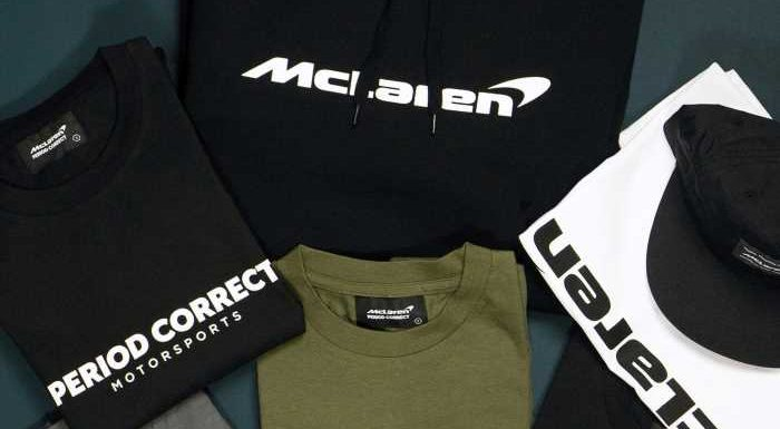 Period Correct Teams Up With McLaren on Line of Limited-Edition Apparel