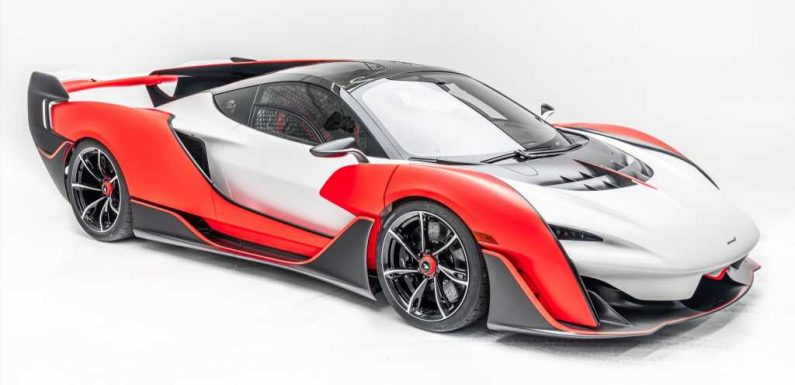 The McLaren Sabre: Just 15 of These 824-HP Supercars Will Be Built