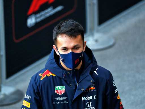 Chrstian Horner: Alex Albon 'on the bench' if loses 2021 drive