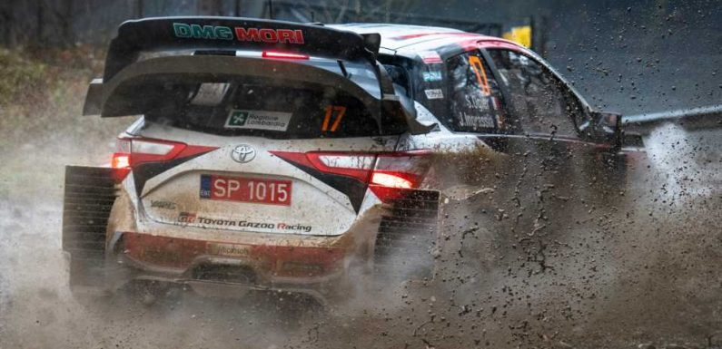 Not Even a Mud-Coated Windshield and No Wipers Could Keep Sebastien Ogier From Winning Rally Monza