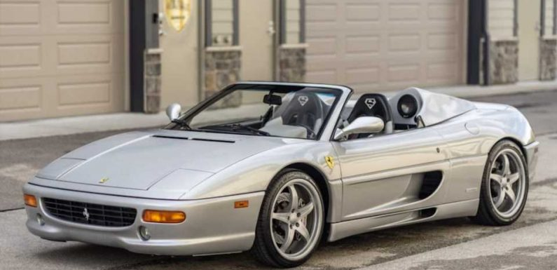 Shaq's Extra-Roomy Custom Ferrari F355 Is Looking for a New Big and Tall Owner