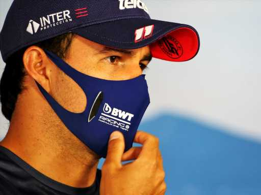 Curtains clue to when Red Bull 'really' signed Sergio Perez