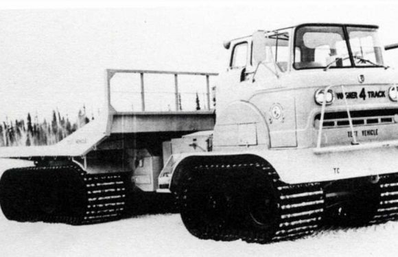 The Wagner 4 Track Was a Cold War Cargo Truck with Tank Dreams and 1.2 MPGs