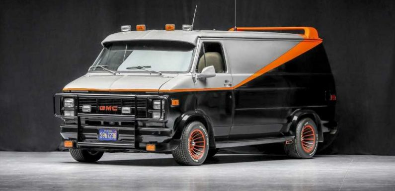 This 'A-Team' Van Comes With a Machine Gun Mounted in the Rear