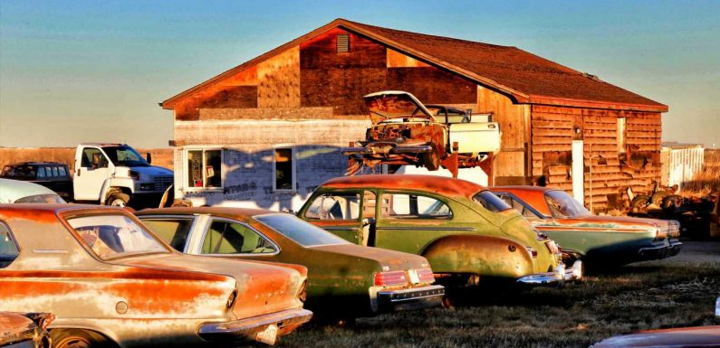 This Is Either Project Car Paradise or a Magnificent Monument to Rust