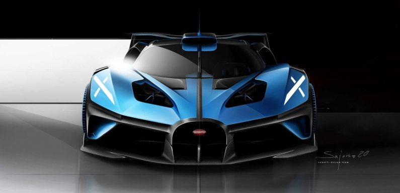 Here's What The McLaren P1 Designer Has To Say About Bugatti Bolide