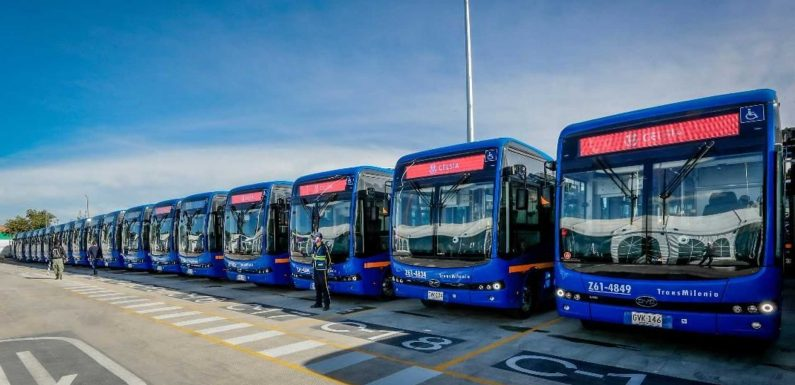 BYD Delivers One Of The Largest Electric Bus Fleets In The Americas