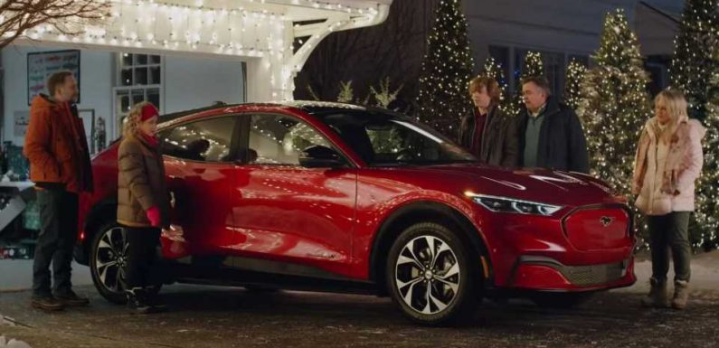 The Griswold Family Reunites For Christmas With Ford Mustang Mach-E