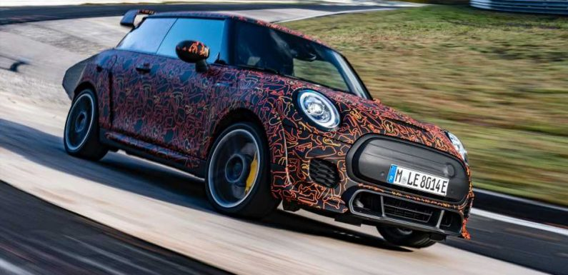 This Upcoming Mini John Cooper Works EV Looks Like the Electric Hot Hatch We Deserve