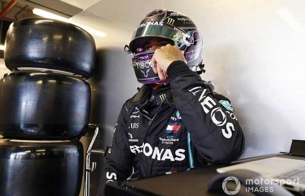 """F1: Hamilton """"not 100%"""" after being """"bed-ridden"""" by COVID-19"""
