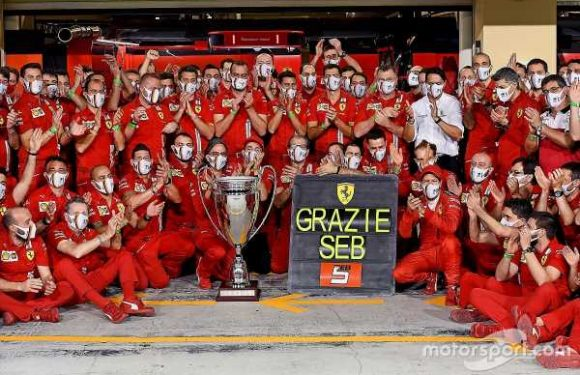 How Vettel's Ferrari mission ended on a sour note