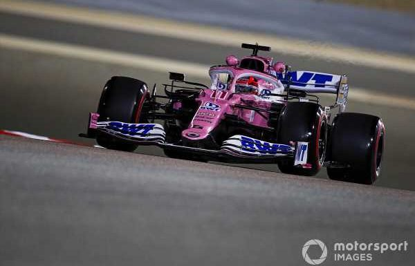 Perez 'suffering' with an old F1 engine in Sakhir GP weekend