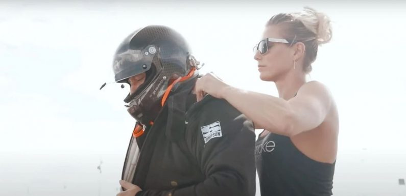 Watch Racing Legend Tony Stewart Try His Hand at Drag Racing