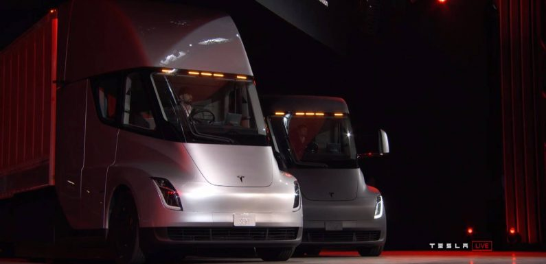 Tesla Semi Prototype Once Again Demonstrates Its Acceleration