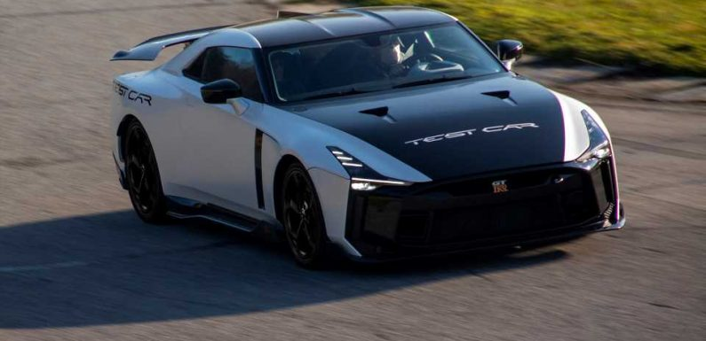Track Photos of Italdesign's $1,000,000 Nissan GT-R50 Make Us Wish This Car Was $3