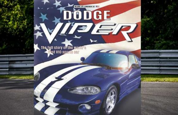 New Dodge Viper Book Will Look Back at the Mad V10 Roadster