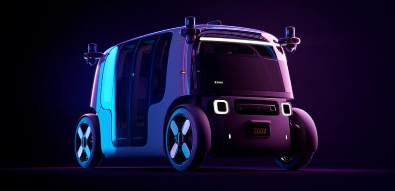 Amazon's Zoox Introduces New Self-Driving Robo-Taxi