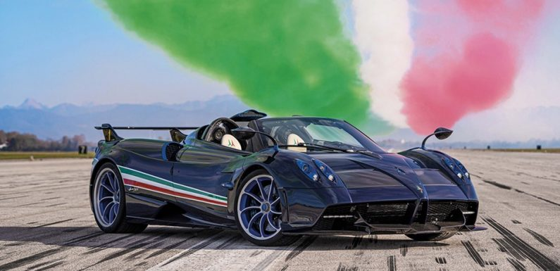 Pagani's Huayra Tricolore Is a $6.735M USD Jet-Inspired Hypercar, and Only 3 Will Be Built