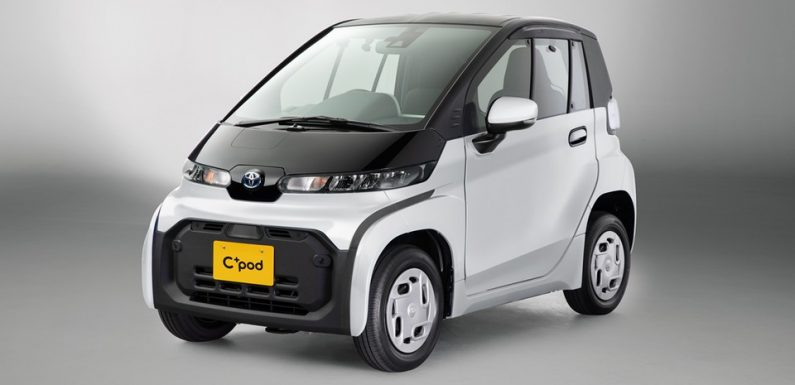 Toyota Takes Kei-Cars Head On With a Two-Door EV For Japan