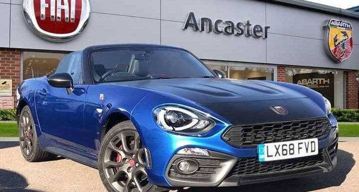 Abarth 124 Spider | Spotted